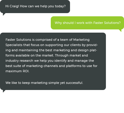What is SEO? Contact the Faster Solutions Marketing Team to Learn More.