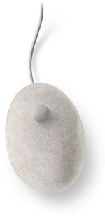Stone Computer Mouse