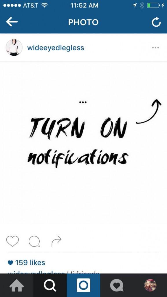 Alert Notifications for Instagram