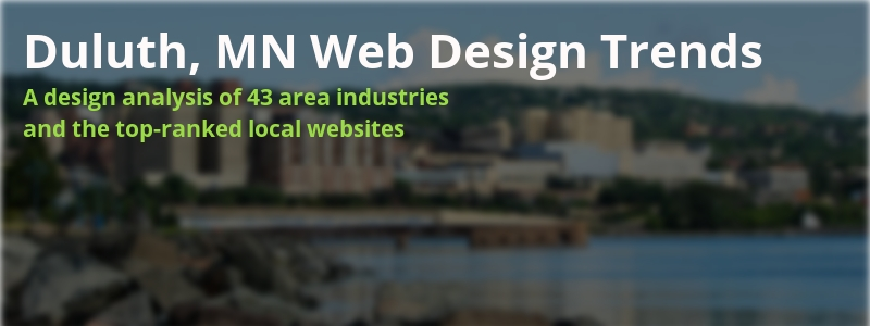 Duluth MN web design