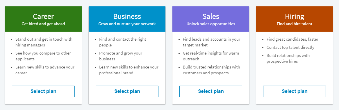 Forget the business cards enhance your linkedin for Saas pricing model template