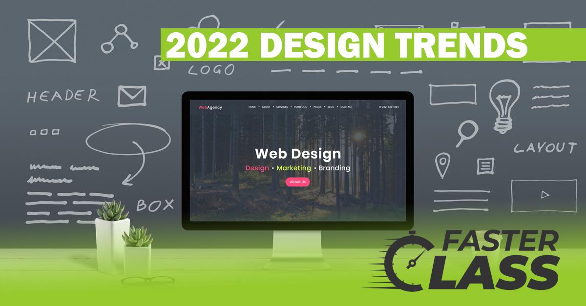 2022 website design trends